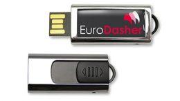 Innovativer USB-Stick mit ausschiebbarem USB-Anschluss