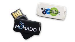 Einzigartige und moderne USB-360°-Drehtechnik