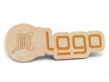 Einkaufswagenlöser 2D-Holz