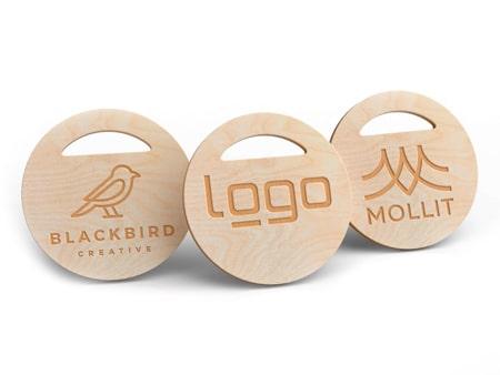 Shopping-Coin Holz