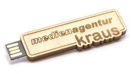 "USB-Modell ""2D-Holz"""