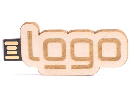 USB-Modell 2D-Holz