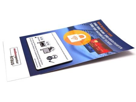 RFID-Mailingkarten Blocker Card als Mailinglösung