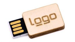 "USB-Modell ""Holz-Square"""