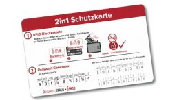 "2in1 Schutzkarte ""Safety to go"""