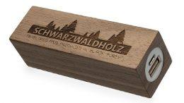 """Powerbank """"Holz-Nussbaum"""""""