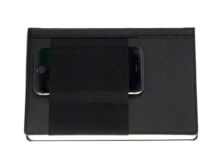 """Notizbuch """"Mobile-Book"""" mit praktischem Einsteckfach für das Smartphone"""