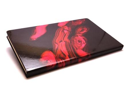 """Beidseitiger glänzender Fotodigitaldruck auf dem Notizbuch """"Colorprint"""""""