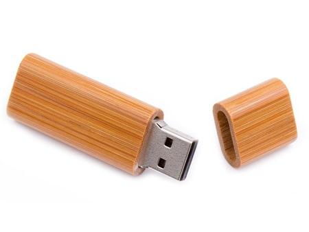 "Bambusholzstick Werbeartikel USB-Modell ""Holz-Elegant"""