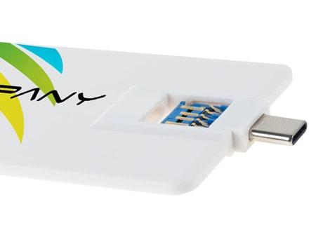 Flache USB-Visitenkarte C 3.0